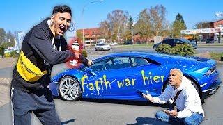 Fatih zerstört mein Lamborghini für ein Prank (das geht zu weit!)