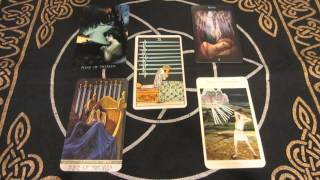 Tarot Meaning & Message - 9 of Swords