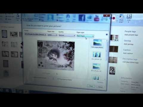 How to print from Pinterest and manipulate your images from your printer