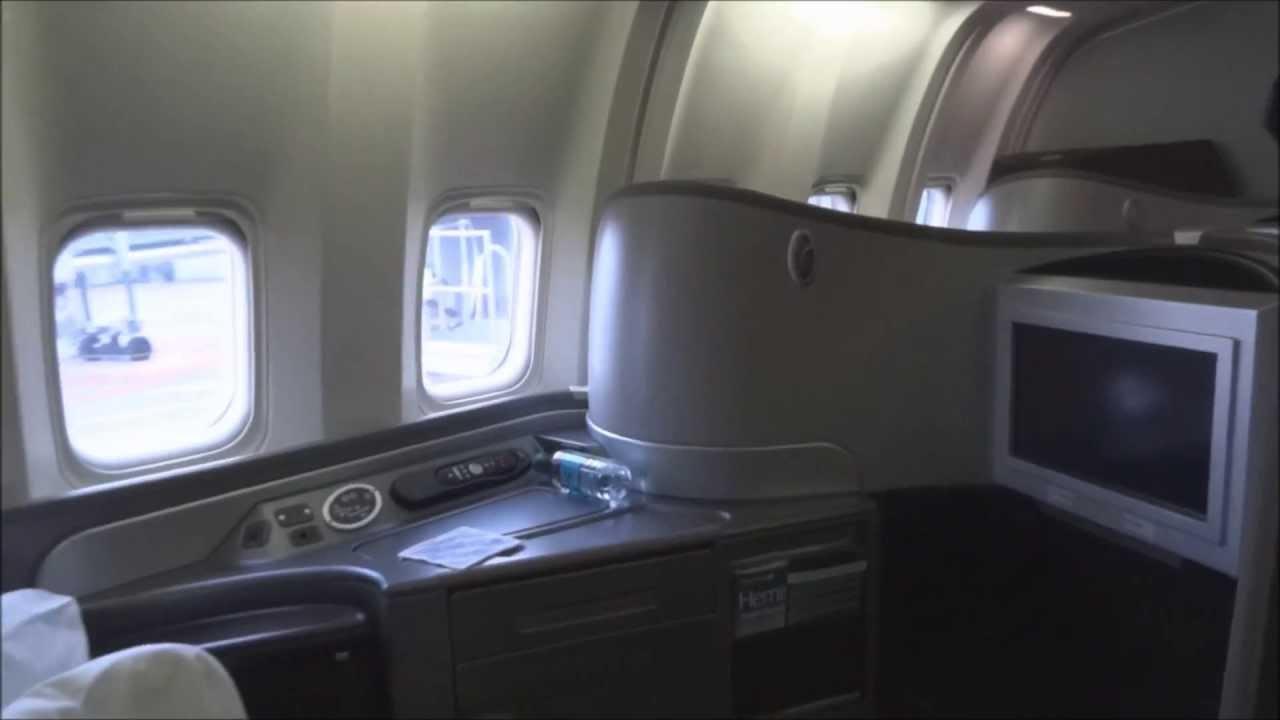 Newark Zurich United Airlines B767 300er Economy Class