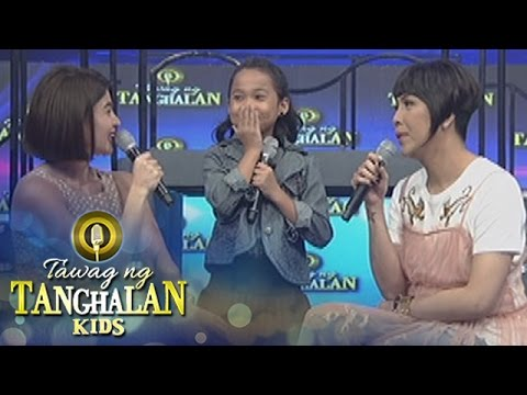 Tawag ng Tanghalan Kids: Vice shows his English communication skills