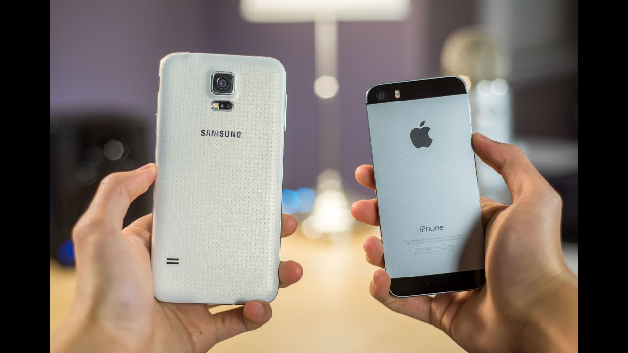 10 Reasons iPhone 5s is better than Samsung Galaxy S5 ...