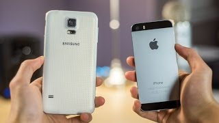 10 reasons iphone 5s is better than samsung galaxy s5
