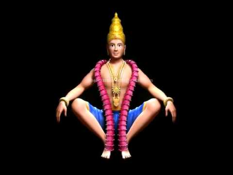 3D model of Lord Ayyappa swamy with 3d camera animation