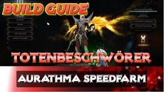 Diablo 3 - Totenbeschwörer - Aurathma Speedfarm Build | Guide | 2.6.1 | Necro | Rathma | Skillung