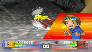 Digimon Tamers: Battle Evolution - Agumon(Taichi) vs. Guilmon(Takato)