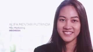 Alifa Mentari Putrinda: international student profile - Learning Resources