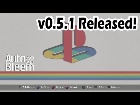Autobleem 0.5.1 Released! Add more games to your Playstation Classic! (Tutorial)