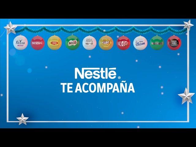 #HoyMañanaySiempre Nestlé te acompaña, Feliz Navidad.