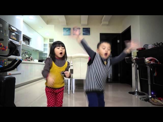 [momo飛到歡樂谷]mv舞蹈大賽cover by--龍鳳胎~佳真&佳燊