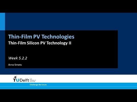 5.2.2 Thin-Film Silicon PV Technology II