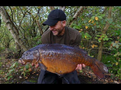 Carp fishing October 2018 blog - The Woodcarving mirror