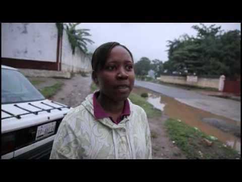 Haiti earthquake victim:  I felt the houses shaking.