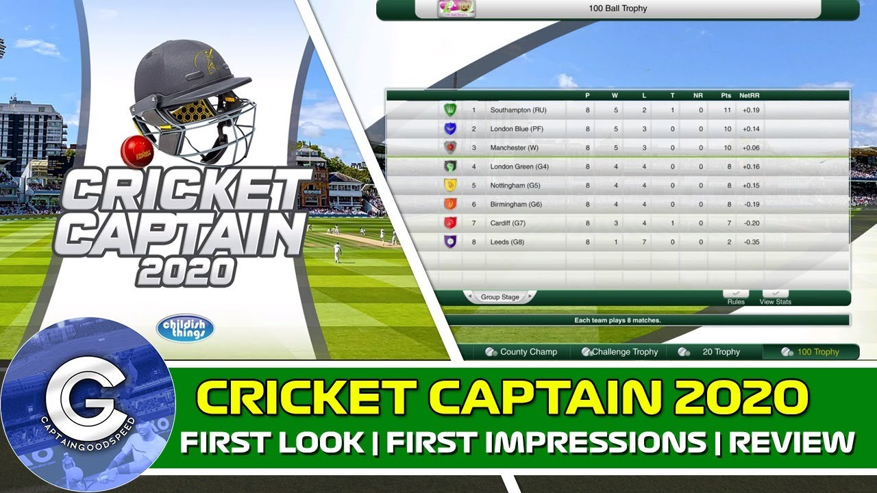 BRAND NEW CRICKET GAME | Cricket Captain 2020 (PC/Mac) | First Look & Review of Cricket Captain