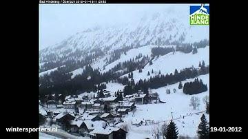 Oberjoch Bad Hindelang webcam time lapse 2011-2012