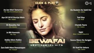 Bewafai Sentimental Hits  Non Stop Sad Songs  Audio Jukebox