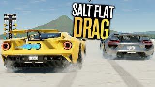 Salt Flat HYPERCAR DRAG RUNS in The Crew 2!
