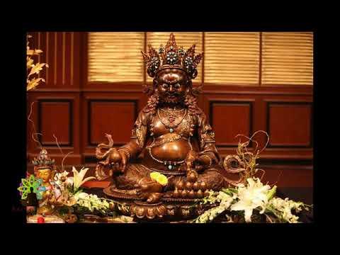 Thần chú Hoàng Thần Tài cầu tài lộc, may mắn và giàu có - Om Jambhala Jalendraya Svaha