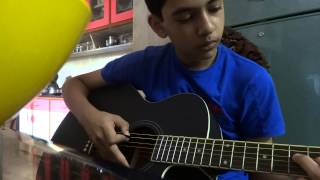 Bhaag Milkha Bhaag Sad tune full guitar