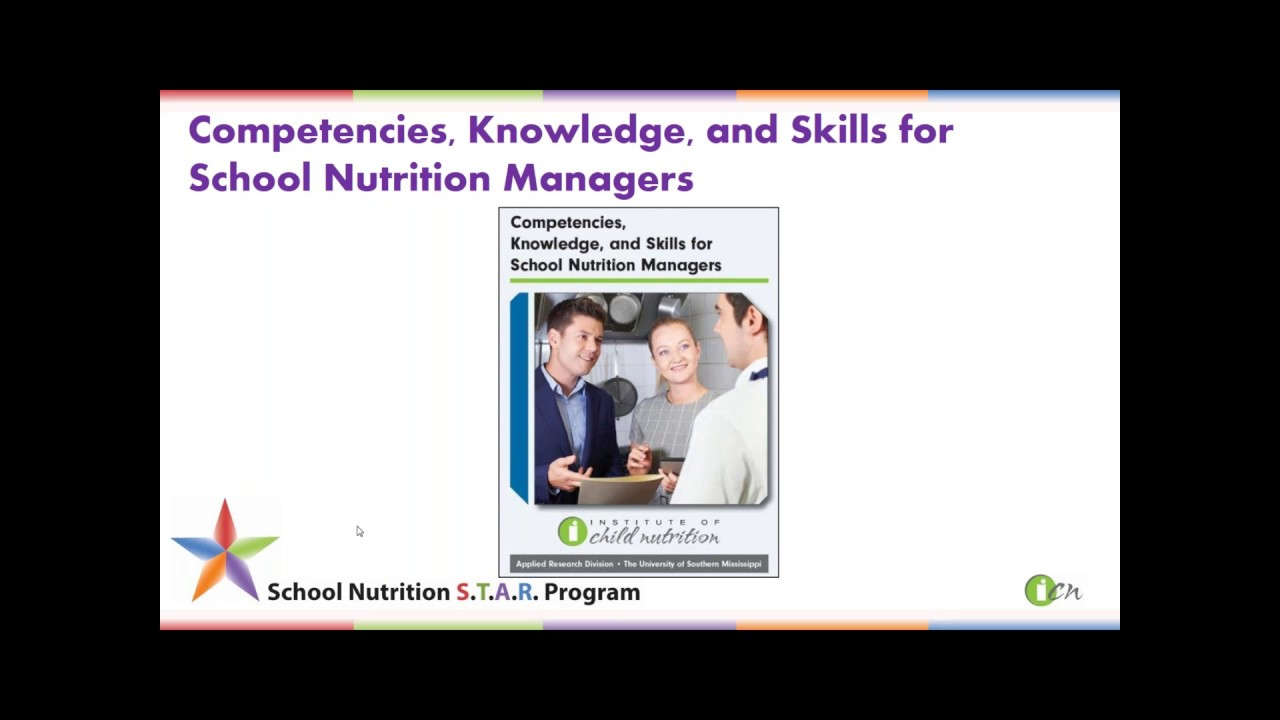 School Nutrition STAR Program - Institute of Child Nutrition