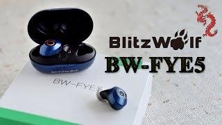 Blitzwolf® BW-FYE5 //TWS наушники с защитой IPX6 и достойным звуком