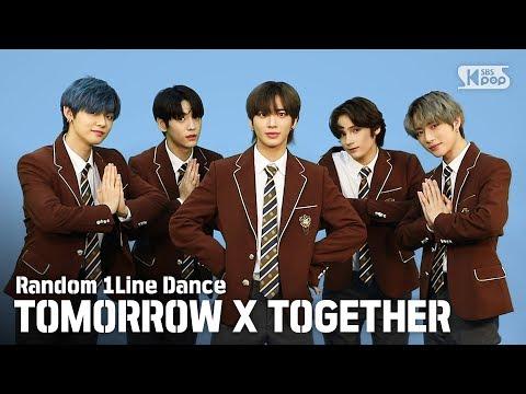 [랜덤1열댄스] RANDOM 1LINE DANCE TOMORROW X TOGETHER (투모로우바이투게더)