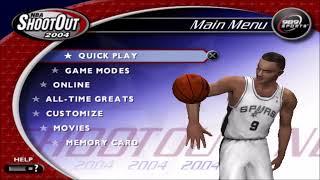 NBA ShootOut 2004 PS2 Intro