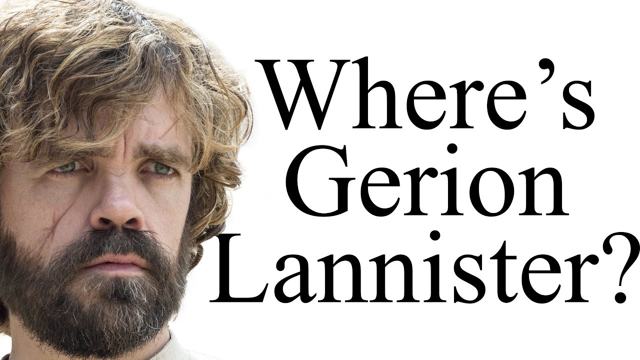 Gerion Lannister What Happened To Tyrions Favourite Uncle Youtube