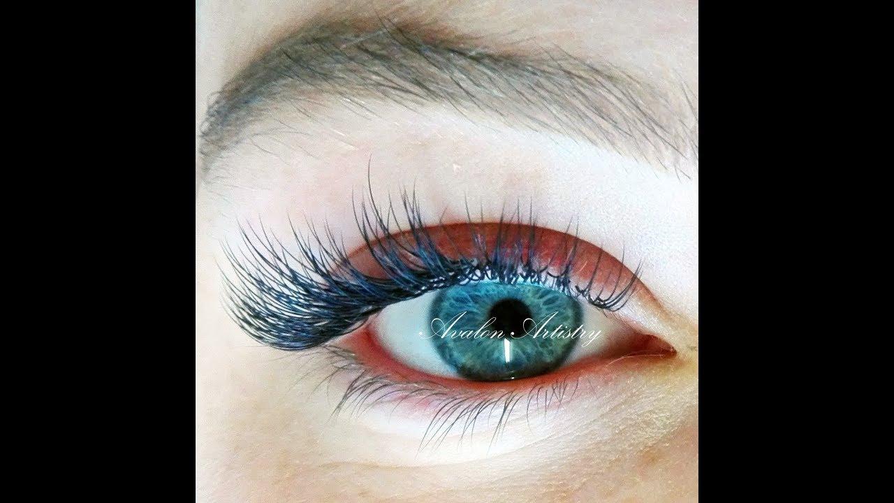 Eyelash Extensions How I Do My Job Avalon Artistry Youtube