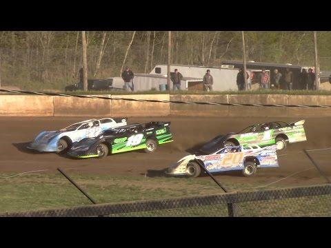 Super Late Model Heat One | Eriez Speedway | 5-14-17