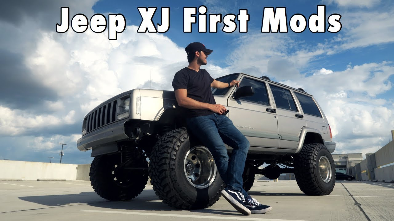 Jeep Xj First Mods Crazy Transformation Youtube
