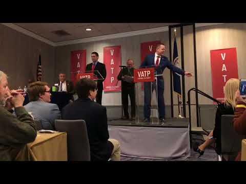 Nick Freitas debates Corey Stewart