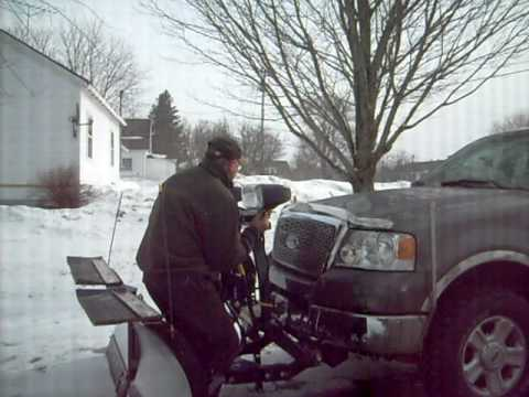 Hook up fisher minute mount plow