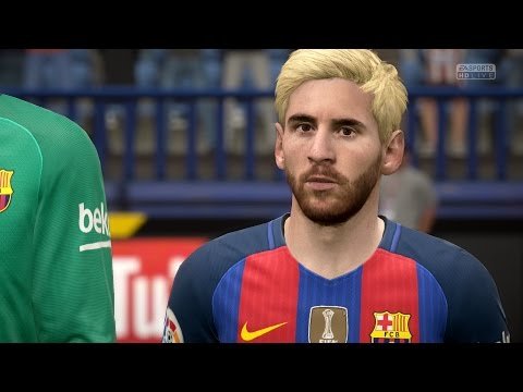 FIFA 17   Atlético Madrid vs FC Barcelona - Full Gameplay (PS4/Xbox One)
