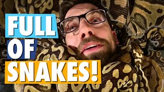 Snake Bites Eric's Crotch | Cold-Blooded Trivia #1 thumbnail