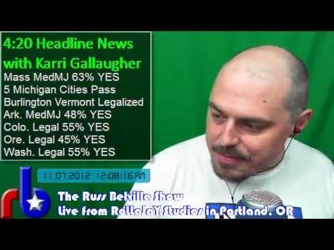 The Russ Belville Show #87 - Marijuana is Legal!
