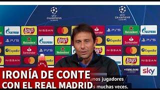 INTER | CONTE y su ironía con el REAL MADRID en la CHAMPIONS | DIARIO AS