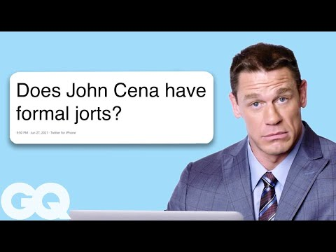 Thumbnail: John Cena Goes Undercover on Twitter, YouTube, and Reddit | Actually Me | GQ