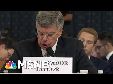 Reports: Another Person Overheard Sondland's Call With The President | Deadline | MSNBC