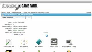 How to edit config of your gameserver