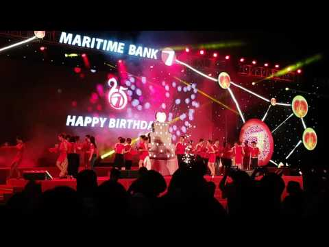 Happy birthday Maritime Bank 25 năm!$€£¥₩