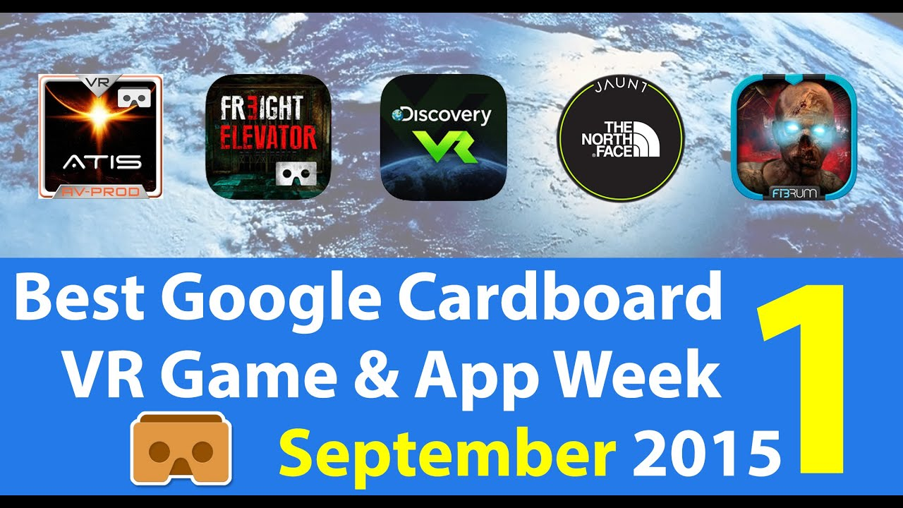 best google cardboard vr game app week 1 september 2015. Black Bedroom Furniture Sets. Home Design Ideas