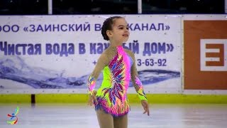 Султанова Валерия. Верхняя Пышма. Юный фигурист 2010