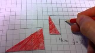 Areal av trekanter