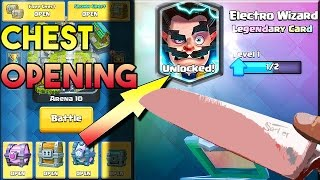 1000 Degree ELECTRO WIZARD CHEST OPENING! | Clash Royale
