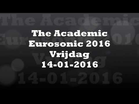 Eurosonic ESNS The Academic, Vrijdag Groningen 2016 live 9 songs