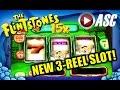 *NEW* THE FLINTSTONES 3-REEL MECHANICAL | FAMILY FREE SPINS BONUS! Slot Machine Bonus (WMS)