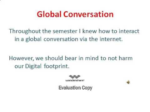 digital footprint essay