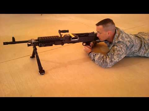 M240 Load Fire Clear Combat Speed