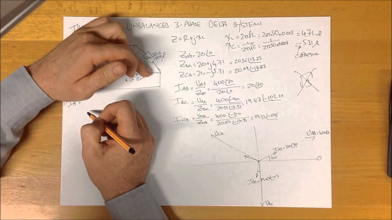 how to work out 3 phase load